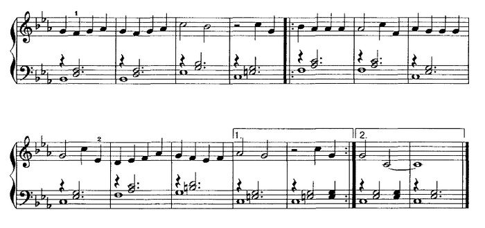 Улыбка ноты