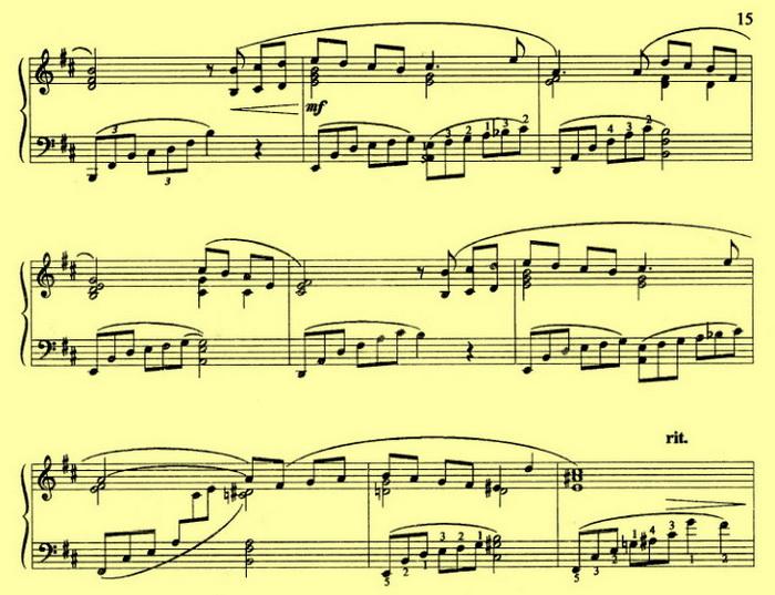 Ноктюрн ноты для фортепиано